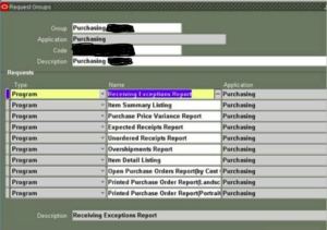 Request Group Purchasing Reports