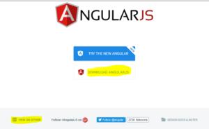 angularJS environment setup