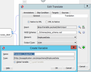 Translate-output-variable