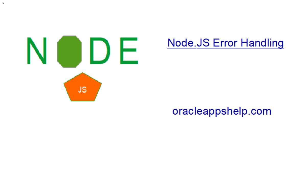 nodejs error handling