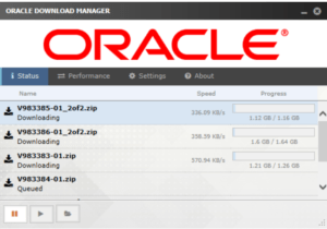 Oracle SOA 12c Download Manager