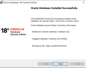 Oralce XE Pluggable Database