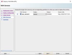 hello world deployment to soa serverhello world deployment to soa server