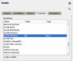 File Adapter Inbound Header Metadata