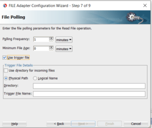File Adapter Polling Configuration